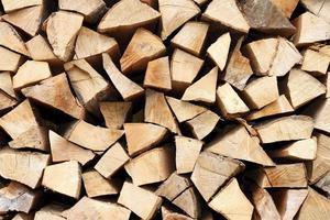 pila di legna da ardere