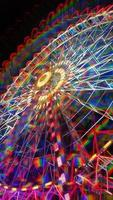 neon riesenrad foto