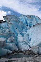 nigardsbreen è un ghiacciaio in Norvegia. foto