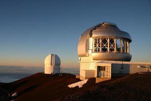 osservatori di Mauna Kea foto