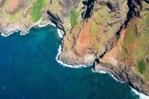 na pali coast hawaii foto