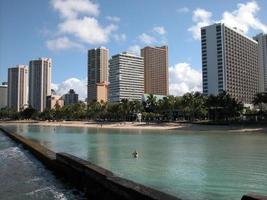 spiaggia hawaiana foto
