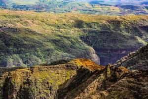 weimea canyon state park, kauia, hawaii foto