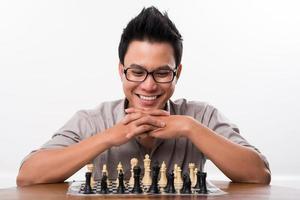 partita a scacchi foto