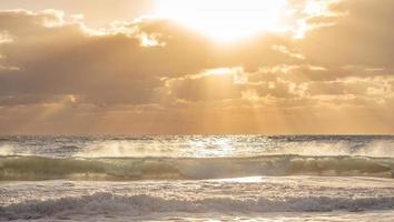 onda dell'oceano. foto