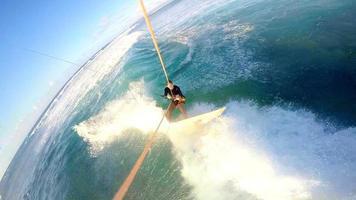 kitesurf gopro selfie hawaii foto