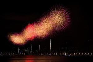 fuochi d'artificio di Capodanno foto