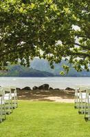 corridoio di nozze di destinazione foto