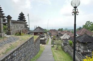 tempio madre di besakih, bali 005 foto