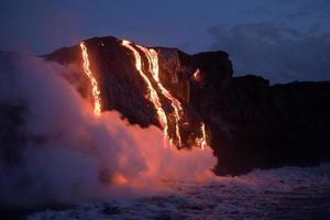 flusso di lava foto