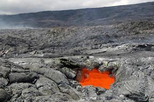 lucernario lava - hawaii foto