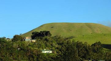 montagne di kohala sulla grande isola foto