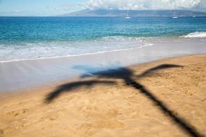 stati uniti d'america - hawaii - maui, spiaggia di kaanapali