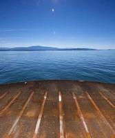 vista di andare su un traghetto foto
