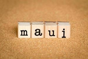 concetto di Maui foto