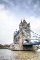 il Tower Bridge di Londra, Regno Unito foto