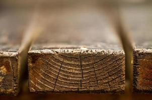 tavola di legno bokeh