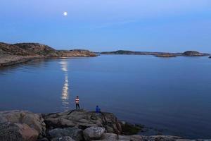 pesca di mezzanotte foto