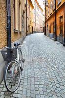 strada a Stoccolma foto