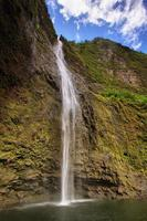 Hanakapi'ai Falls, isola di Kauai foto