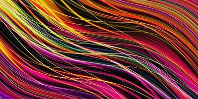 strisce e linee su uno sfondo scuro foto