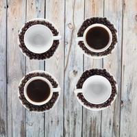 Chicco di caffe foto