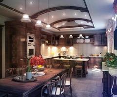 cucina in stile classico foto