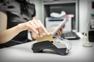 terminale bancario e tablet pc