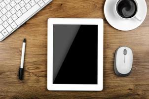 un PC tablet