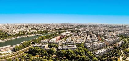 skyline di parigi foto
