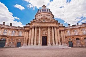 istituto francese, quai de conti, parigi, francia foto