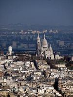 vista aerea di Parigi