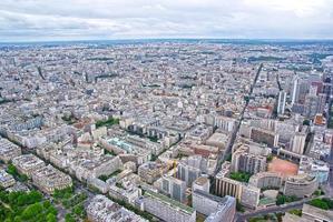 vista dall'alto di Parigi