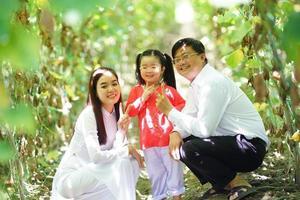 felici momenti di famiglia foto