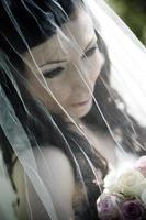 ritratto della sposa foto