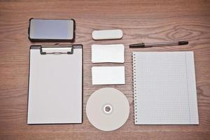 modello per l'identità del marchio. foto