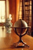 interno della biblioteca foto