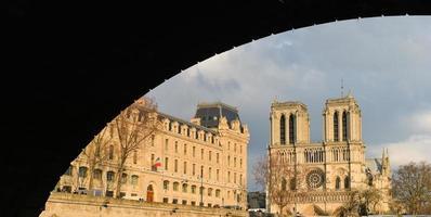 cattedrale di Notre-Dame - Parigi foto