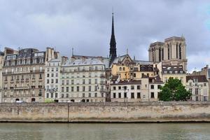 Parigi, Francia. citare l'isola foto