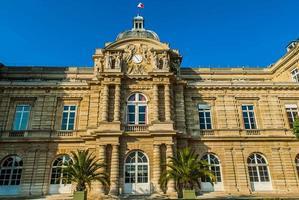 senat jardin du luxembourg città di parigi francia foto
