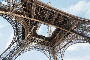 la torre eiffel, parigi foto