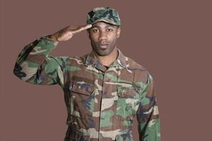 ritratto del soldato foto