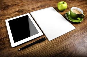 un PC tablet foto