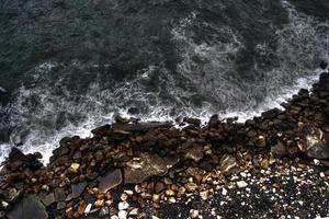 l'acqua incontra la terra foto