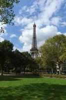 torre eiffel, vacanza a parigi foto