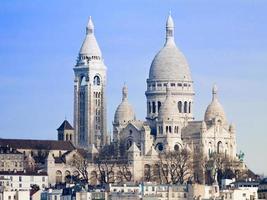 basilica sacre-coeur parigi foto