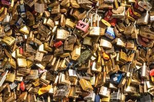 serrature d'amore, Parigi foto