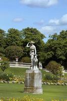 giardini del Lussemburgo a Parigi Francia foto