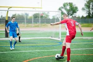 giocatori di calcio (calcio) foto