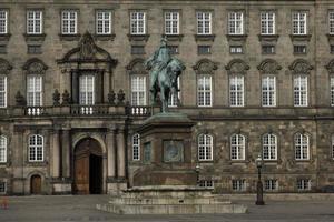 christiansborg il parlamento danese foto